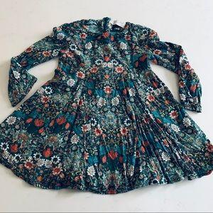 Zara Girls floral dress